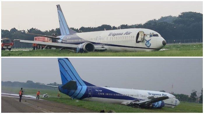 Kronologi Pesawat Trigana Air Tujuan Makassar Tergelincir di Bandara Halim Perdanakusuma Jakarta