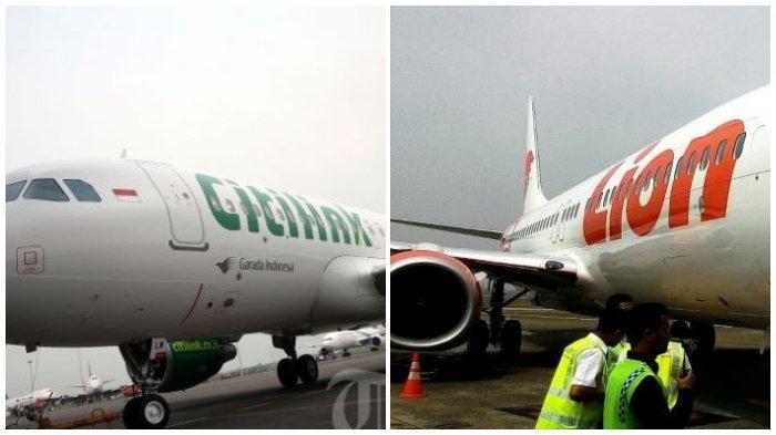 KABAR GEMBIRA Harga Tiket Pesawat Citilink dan Lion Air Turun Mulai 11 Juli 2019, Baca Aturannya!