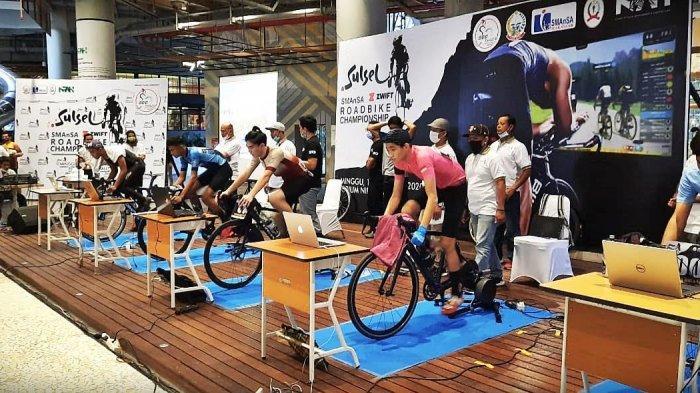 FOTO: IKA Smansa Gelar Virtual Road Bike di Nipah Mall