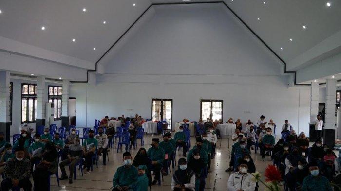 Peserta STQH ke 32 Sulsel, Kontingen Barru dan Parepare Bersamaan Tiba di Sidrap
