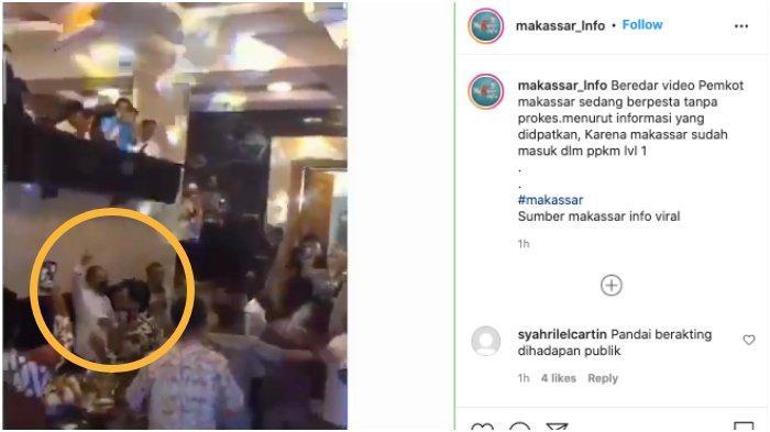 Viral Video Kerumunan Pesta Joget Mirip di Rumah Danny Pomanto, Wali Kota Makassar: Tamu Lagi Nyanyi