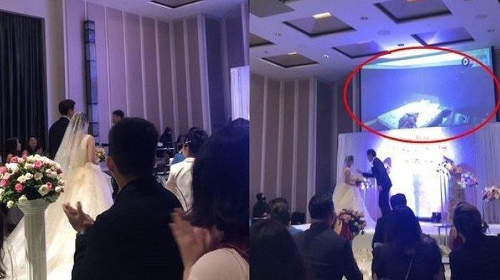 Pesta Pernikahan Berantakan, Mempelai Pria Tetiba Putar Adegan Ranjang Calon Istri dengan Pria Lain