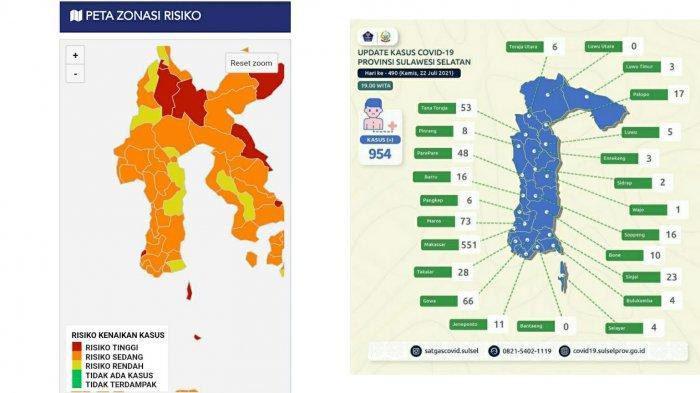 Makassar dan Selayar Kini Zona Merah Covid, Hanya 3 Daerah Zona Kuning