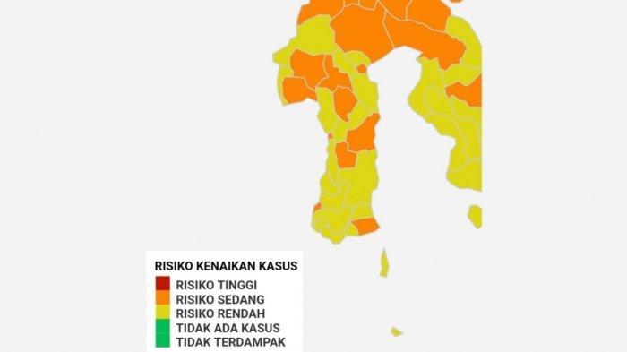Daerah Sulsel Kini Dominasi Zona Kuning, Tak Ada Zona Merah