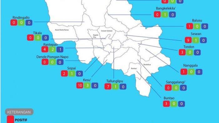 Bertambah 40 Pasien Covid-19 di Toraja Utara, 9 Sembuh, dan 1 Meninggal Dunia