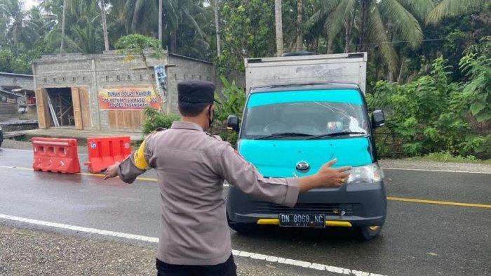 Hendak Mudik ke Sulbar, 51 Kendaraan dari Sulteng Diminta Putar Balik