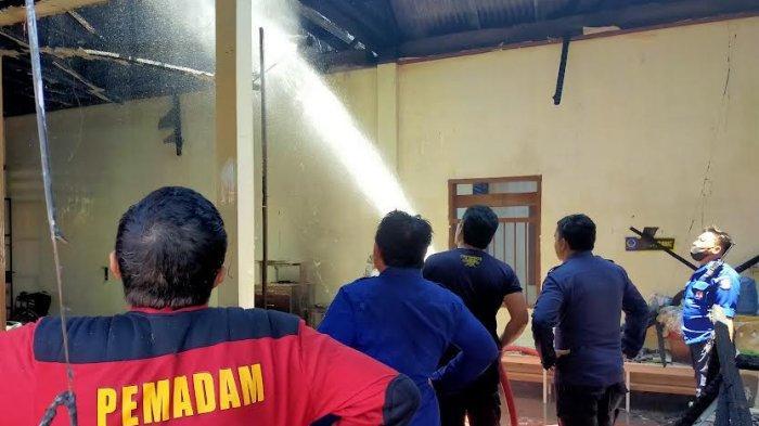 Korsleting Listrik Diduga Penyebab Kebakaran Rumah Sakit Dadi Makassar