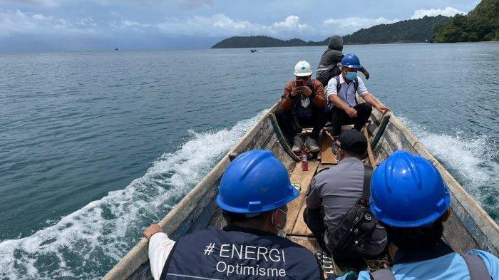 PLN Sulselrabar Listriki 770 Rumah di Pulau Masaloka Bombana