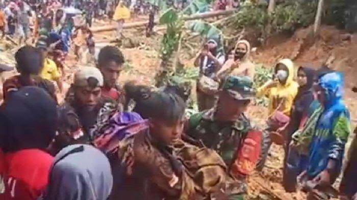 Waspadai Longsor Susulan, Warga Desa Ilan Batu Luwu Bergiliran Jaga Malam