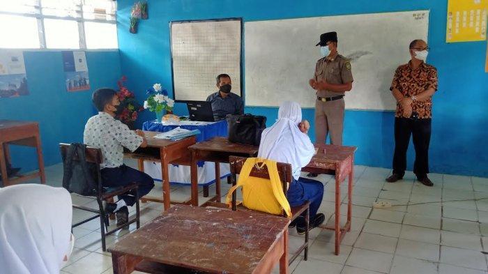 Sudah Dua Pekan Sekolah Tatap Muka di Palopo Diawasi Satpol PP