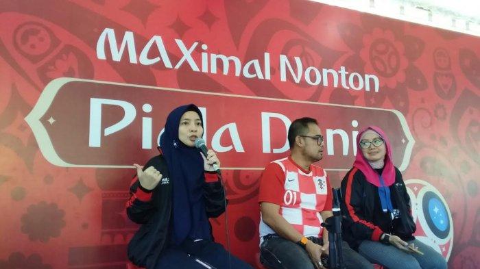 Hivi Meriahkan Nonton MAXimal Piala Dunia di Fort Rotterrdam