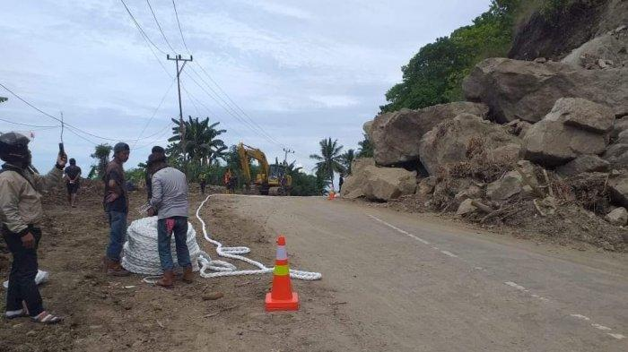60 Titik Longsor Akibat Gempa di Majene dan Mamuju Sudah Ditangani