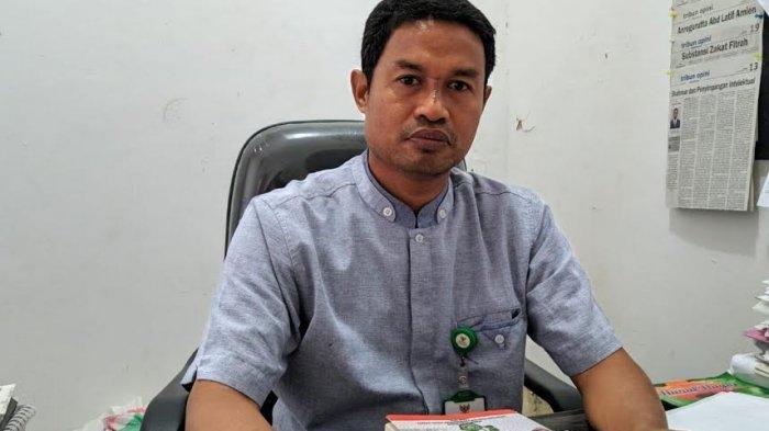 Pimpinan Baznas Enrekang yang membidangi pengembangan SDM, Ilham Kadir.