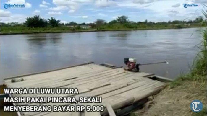 BREAKING NEWS: Pincara di Desa Beringin Jaya Luwu Utara Terbalik, 2 Orang Dilaporkan Hilang