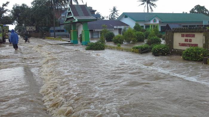 5000 hektar Sawah Terendam Banjir di Sidrap, Satu Warga Tewas