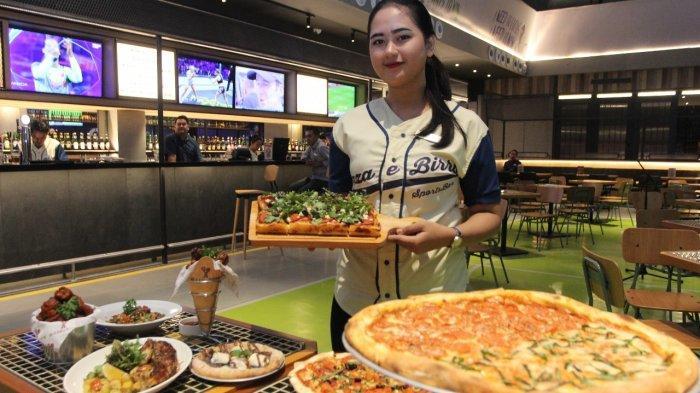 TRIBUNWIKI: Berkonsep Sports Bar, Pizza e Birra Hadir di Mall PiPo, Ini Keistimewaan dan Menunya