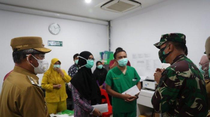 Yusran Dampingi Jenderal Sumangerukka Cek Protokol Kesehatan RS Daya
