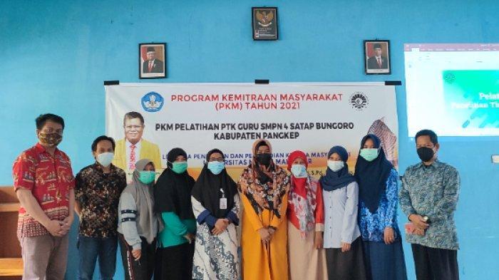 Dosen UNM Ajarkan Cara Cegah Cyberbullying di SMPN 4 Satap Bungoro Pangkep