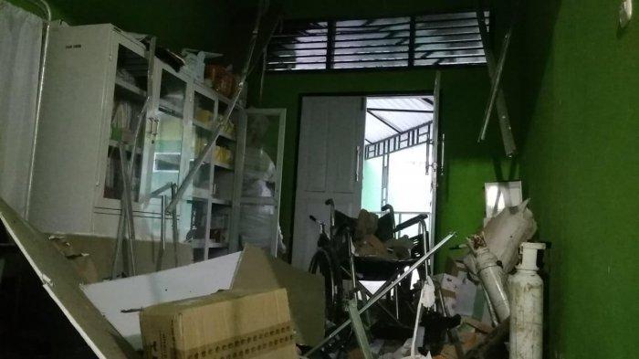 Habiskan Rp 500 Juta untuk Rehab, Ruang UGD Puskesmas Wotu Luwu Timur Roboh