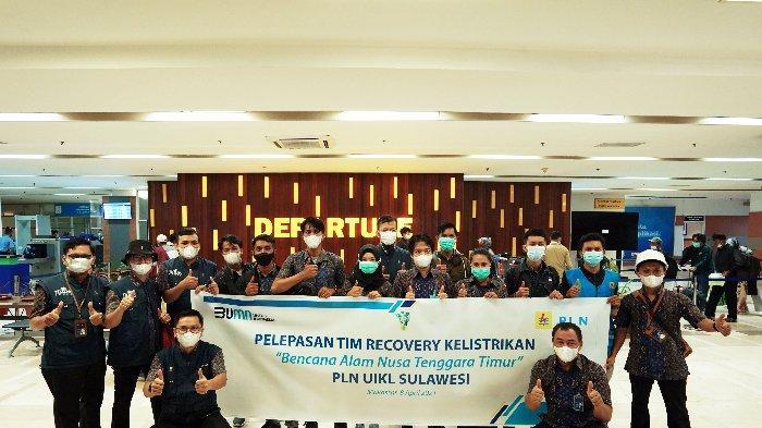 Pulihkan Kelistrikan di Nusa Tenggara Timur, PLN UIKL Sulawesi kirimkan Tim Recovery