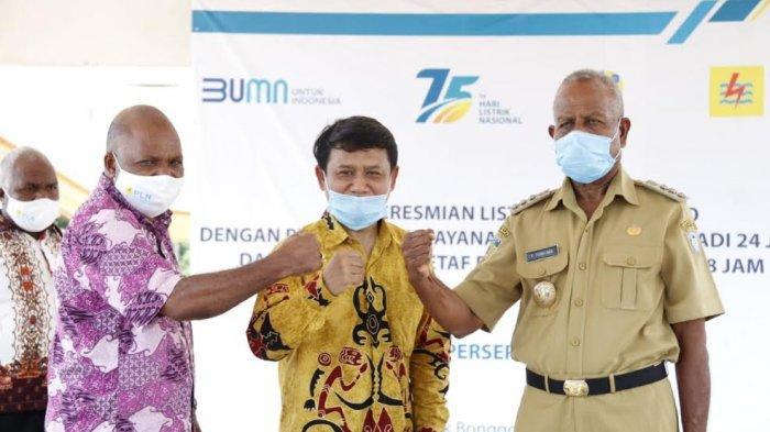 Lima Distrik di Kabupaten Sarmi Papua Kini Nikmati Listrik PLN 24 Jam