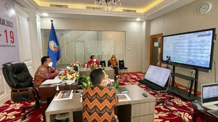 Dipresentasikan Plt Gubernur Andi Sudirman Sulaiman, Inovasi Gesit-19 Sulsel Lolos Top 45 Nasional