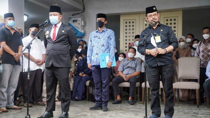 Plt Gubernur Sulsel Pembina Upacara Pelepasan Jenazah Abdul Latif