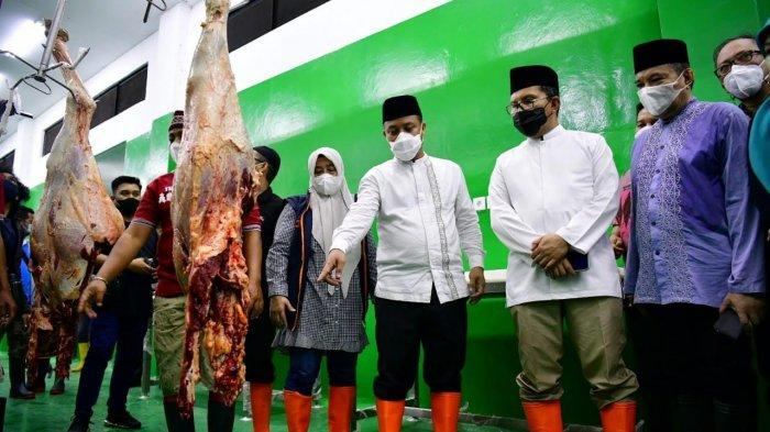 Andi Sudirman Sulaiman Pastikan Stok Daging Sulsel Aman Jelang Lebaran