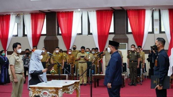 Sudirman Sulaiman Mutasi Loyalis Nurdin Abdullah, Daftar Pejabat Pemprov Sulsel yang Dilantik