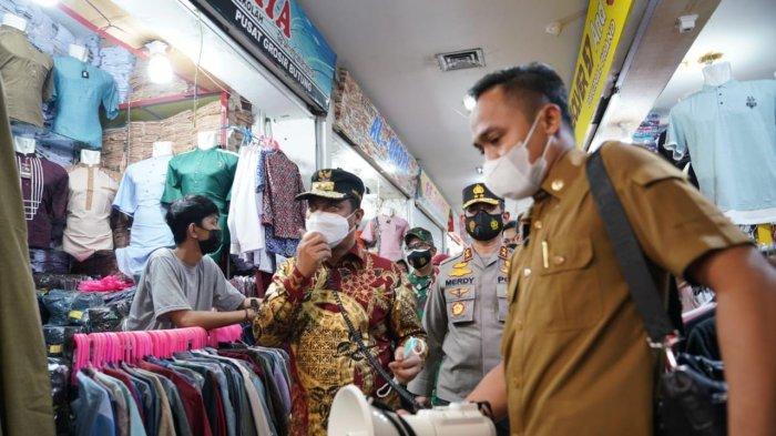 Sidak di Pasar Butung-Mal Panakkukang, Andi Sudirman Didampingi Kapolda-Irdam Hasanuddin