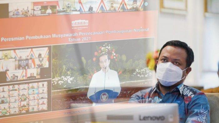 Musrenbangnas Penyusunan RKP 2022, Menuju Era Digital Infrastruktur