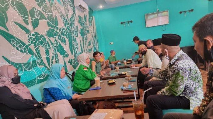 Perkuat PPP, Andi Nurhidayati Temui Pengurus NU Soppeng