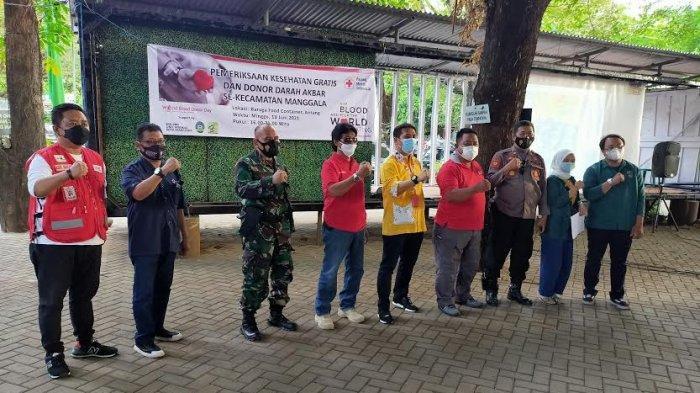 Krisis Darah, PMI Makassar Donor Darah Akbar di Manggala, Sasar Komunitas