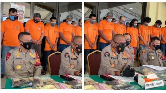 Polisi amankan 49 orang pelaku Pungli di Terminal Tanjung Priok, Jakarta Utara. Hal itu setelah Presiden Jokowi menelepon Kapolri karena keluhan sopir kontainer yang kerap mendapat pungli.