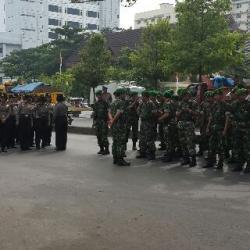 6.755.Personil Polda Sulsel  Amankan Sulsel di Hari Pelantikan Presiden