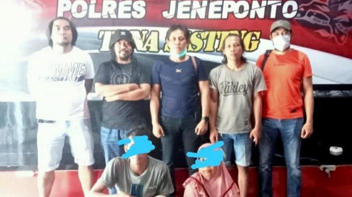 Curi Ponsel, Mertua dan Menantu di Jeneponto Ditangkap Polisi