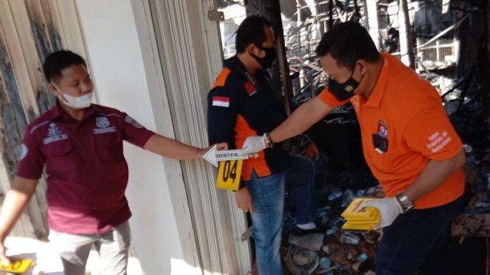 Polisi Selidiki Penyebab Kebakaran Minimarket di BPS Sudiang Makassar