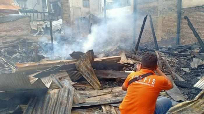 Polisi Belum Pastikan Penyebab Kebakaran 9 Rumah di Sengkang Wajo