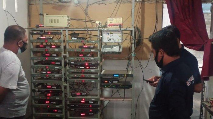 Tak Miliki Izin Penyiaran, Dua TV Kabel di Sulbar Ditertibkan Polisi