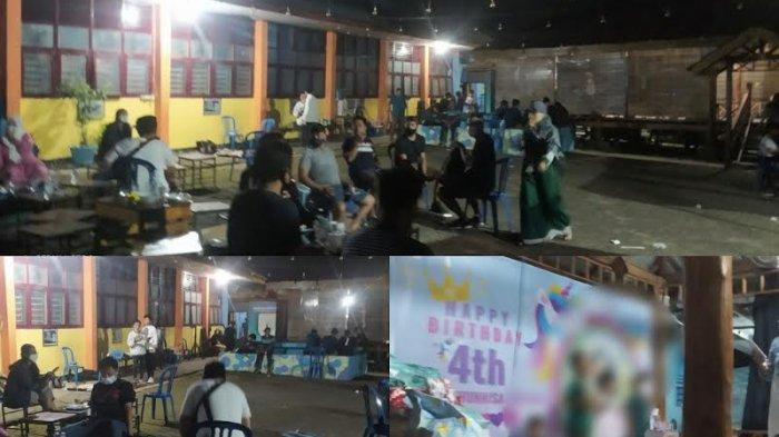 Polisi Bubarkan Acara Ulang Tahun Anak Pembina Pramuka di SMA 12 Makassar