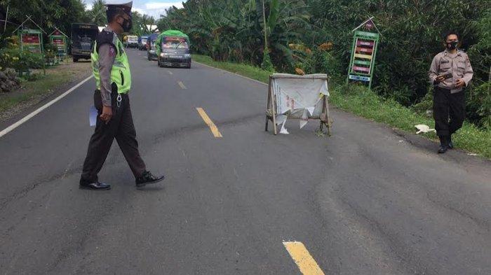 Ngebut di Jalan Bergelombang, Dua Pemuda Kecelakaan di Pitumpanua Wajo
