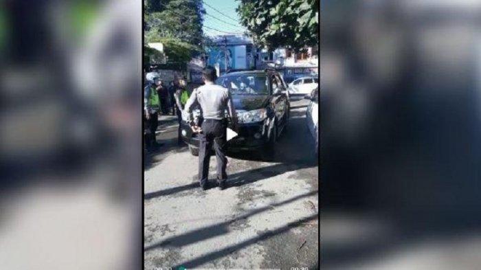 KRONOLOGI Polisi Ngamuk saat Diberhentikan Petugas Cek Poin Corona, Kapolda Jabar Sampai Minta Maaf