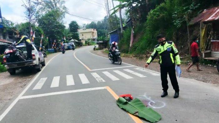 Jupiter vs Fino di Depan Kampus Atma Jaya Tana Toraja, Satu Pengendara Alami Pendarahan di Hidung
