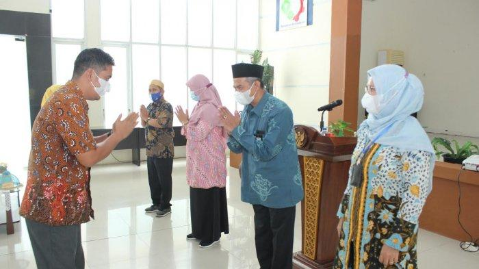 Hari Pertama Kerja Usai Lebaran, Politeknik ATI Makassar Gelar Halalbihalal