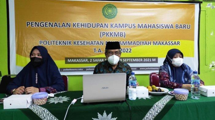 350 Maba Poltekkes Muhammadiyah Makassar Diajar Memiliki Integritas, Mandiri dan Berakhlakul Karimah