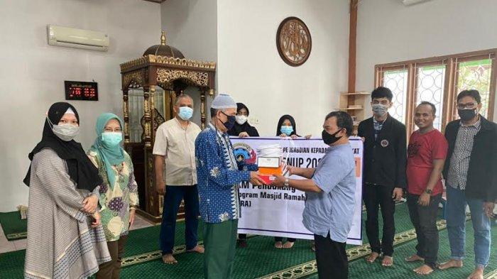 PNUP Care Fasilitasi WiFi dan CCTV di Masjid Raudhatul Jannah Makassar