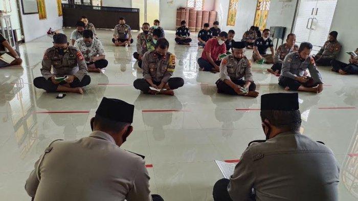 Bulan Suci Ramadhan, Polres Enrekang Rutin Gelar Pembinaan Rohani dan Mental