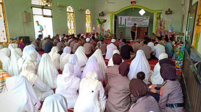 Peringati Maulid Nabi Muhammad SAW, Polres Enrekang Gelar Pengajian Bersama