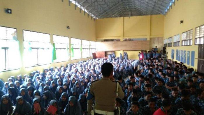 Polres Enrekang Sosialisasi Pencegahan Kenakalan Remaja di MAN Baraka, Ini Tujuannya