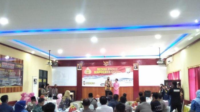 Kapolres Gowa Resmi Dijabat AKBP Tri Goffarudin Pulungan, Ketua Bhayangkari Uut Permatasari